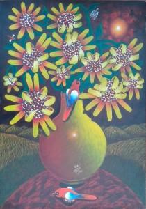 Art by Miguel de la Espriella - Title: 'Margaritas'